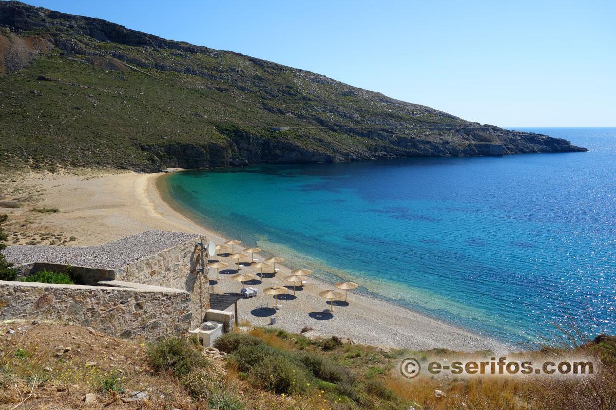 Παραλίες και ακτές της Σερίφου